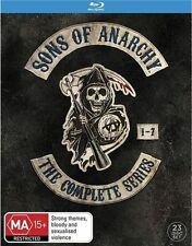 Sons of Anarchy The Complete Seasons Series 1 2 3 4 5 6 & 7 Blu ray Box Set RB