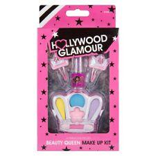 Kids Fashion make-up Set di clip per capelli, rossetto, Lucidalabbra, ombretto Regalo di Natale