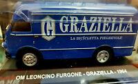 OM Leoncino Furgone Graziella 1964 - Scala 1:43 Die Cast - DeAgostini - Nuova