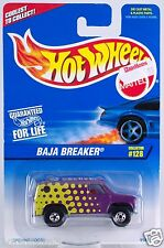 Hot Wheels Collector #128 Baja Breaker Van China Casting Basic Wheels New