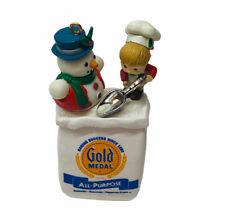 New ListingRare Enesco 1993 Gold Medal Flour Christmas Ornament