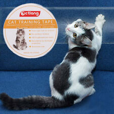 New listing Anti-Scratc Pet Cat Training Tape Guard Mat Home Leather Guard Protector T_ec