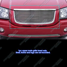 Fits 2001-2009 GMC Envoy Main Upper Billet Grille Insert