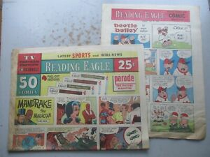 Reading (PA) Eagle COMPLETE Comics Section July 25, 1971 24 PAGES!