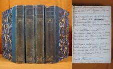 Très bel envoi de Robert de MONTESQUIOU sur un des 4 Volumes Numérotés / 1906-08