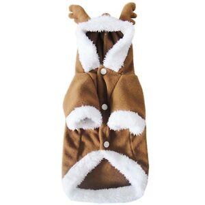 ♪Closeout Sale - J&S Cute Reindeer Pet Outwear Christmas