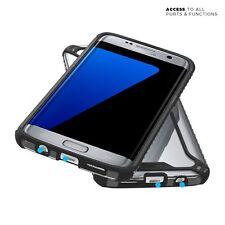 Case For Samsung Galaxy S7 Edge POETIC【Affinity】Premium Thin Bumper Case Black