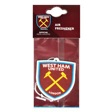 West Ham United FC Crest Air Freshener Car Accessories Room Office Xmas Gift New
