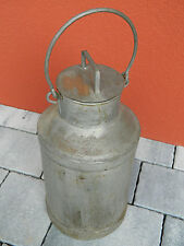 VINTAGE Pot à LAIT boite en METAL milk BOX Bouteille AGRICULTURE tin can