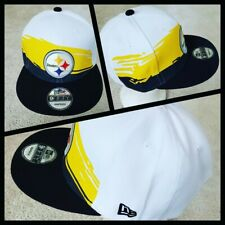 PITTSBURGH STEELERS NFL SNAPBACK HAT.