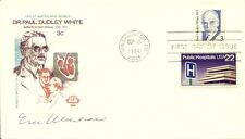 Eric F. Wieschaus - First Day Cover Signed