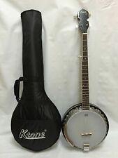 5 String Banjo, 24 Brackets, Free Gig Bag