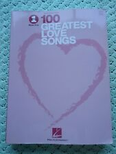 VH1's Selections from The 100 Greatest Love Songs - Piano / Voice / Guitar