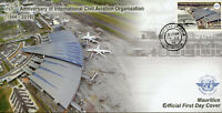Mauritius Aviation Stamps 2019 FDC ICAO Intl Civil Aviation Organization 1v Set