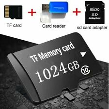 Slot Black 1TB Micro Memory Card Storage for 1028GB Micro SD Card