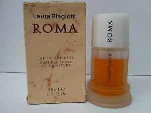 Roma by Laura Biagiotti for Women 1.6 oz Eau de Toilette Spray, VINTAGE.