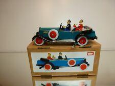 TIN TOY PAYA REPLICA VINTAGE CLASSIC CAR BLUE L20.0cm - GOOD IN BOX