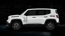 Jeep Renegade Calcomanías Pegatinas Pack