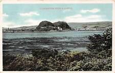 Dumbarton Rock and Castle General view Lake 1907