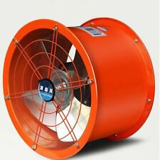 Explosion Proof 12 Axial Fan Cylinder Pipe Spray Booth Paint Fumes Exhaust Fan