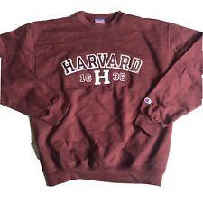 Champion Harvard Crewneck Sweatshirt Medium Sweater