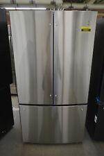 "Ge Gwe23Gynfs 36"" Stainless French Door Refrigerator Nob #93001 Hrt"