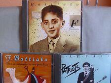 Franco Battiato- Patriots/ Fisiognomica/ Come un cammello in...- 3 CDs EMI alt