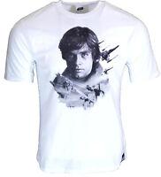 Star Wars T-Shirt Mens  Official Luke Skywalker 100% Cotton Tshirt Top Novelty