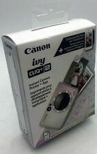 Canon Ivy Cliq+2 Instant Camera Printer+App - Iridescent White - 013803334883