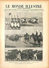 Expédition de Madagascar Revue du 14 Juillet de Suberbieville 1895 ILLUSTRATION