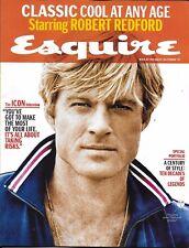 Esquire magazine Robert Redford A century of style Ana De Armas Britain Brexit