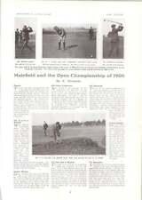 1906 Campeonato Abierto de Golf Muirfield Barry Mitchell Hoffman