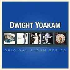 DWIGHT YOAKAM 5CD NEW Guitars Cadillacs/Hillbilly/Buenas/If There Was/This Time
