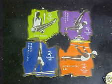 Sydney 2000 Olympic Mens Gymnastics Four Pin Set