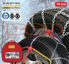 CATENE DA NEVE RAPID MATIC V5 PER RUOTA 255//65-16 G120 16MM OMOLOGATE V5117 R16