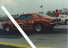 "1960s Drag Racing-NHRA-1967 Camaro-""STORMIN SIX""-H/MP-'69 US Indy Nats Winner"