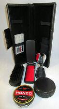 Golden State Warriors Shoe Care Kit w Polish Brush Horn + More w/ Case w/ Logo