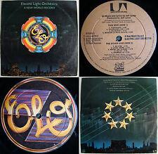 ELO A NEW WORLD RECORD INCL INNER SLEEVE!! UNIQ CVR!! MEGARARE CHILEAN PRESS!!