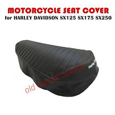 MOTORCYCLE SEAT COVER HARLEY DAVIDSON SX125 SX175 SX250 480mm LONG