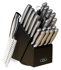 22 Piece Professional Knife Block Set Chef Kitchen Baldwyn Knives Cutlery Sharp