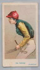 American Jas. Galway 1 of a set 20 Jockey American Caramels  E 47 circa 1920