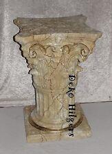 Säule Stuckgips Dekosäule Podest Tisch Möbel Säulen Auf Alt 1629 Optik Marmor