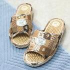 Women Home Shoes Reflexology Acupressure Slipper Scuff Foot Massager 3 Colors