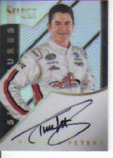 2017 Panini Select Racing Signatures Timothy Peters Autograph