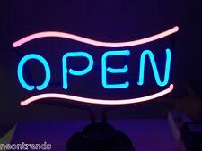 OPEN II Neonreklame @ Neon sign Leuchtreklame Neonleuchte geöffnet Werbung neu