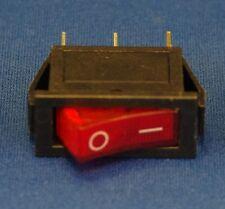 ON-OFF Rocker Switch SPST KCD3 3 Pin 15A 3PCs