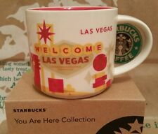Starbucks coffee Mug/taza vaso/las vegas You Are Here/Yah,! nuevo! con SKU I. box!