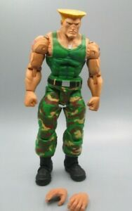 """Neca Street Fighter IV Guile 7"""" action figure Authentic product"""