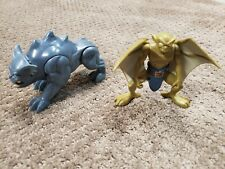 Vintage Gargoyles 1995 Bvtv Used Toy Action Figures lot of 2