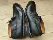 Men's Barneys New York Made in Italy Supple Black Leather Chukka Boots US 11 M